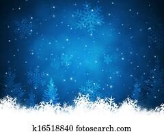 Xmas Snow Background