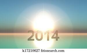 2014 and sunrise