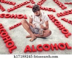 Photos, illustrations et vidéos de alcoolique - Fotolia