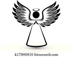 engelchen, silhouette