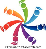gemeinschaftsarbeit, promoviert, studenten, logo