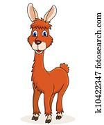 Happy Llama carton