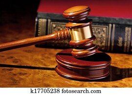 judge gavel of a judge in court