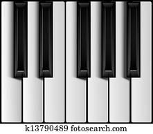 klavierschlüssel