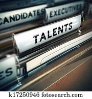 Talents Recruitment Concept