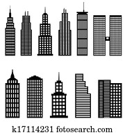 Tall buildings and skyscrapers