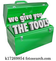 We Give You the Tools Toolbox Valuable Skills Service