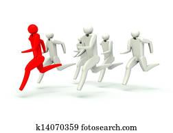 Winner and the runners