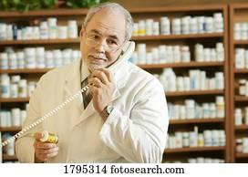 apotheker, telefon