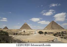 Great Pyramid of Cheops, The Giza Pyramids