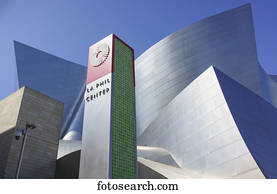 Los Angeles Philharmonic (LA Phil) by architect Frank Gehry; Los Angeles, California, United States of America