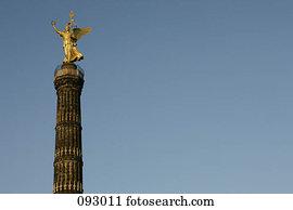 sieg, spalte, berlin, deutschland