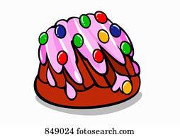 Kuchen Clipart Lizenzfrei 113 826 Kuchen Clip Art Vektor Eps