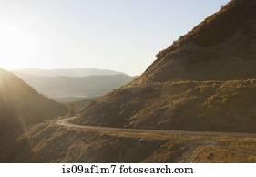 Flash Of Light Along Highway 31 Aka Energy Loop Scenic