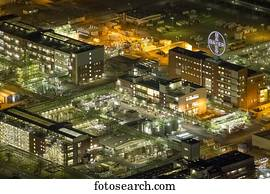 Chempark, Chemiepark, Bayer AG, Leverkusen, Nordrhein