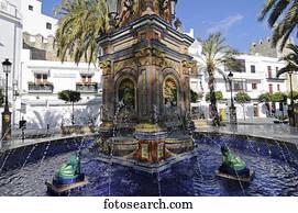 Images view de les ville de vejer de la for Azulejos cadiz