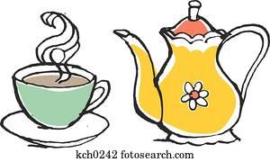 Tea pot and tea