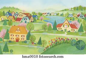 spring village