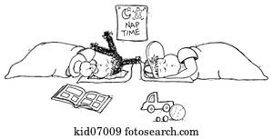 Nap Time Illustrations | Our Top 167 Nap Time Stock Art ...Nap Time Clip Art Black And White