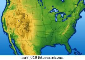 map, terrain, relief, political, atlas