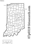 Image Result For Usa Map Indianapolis