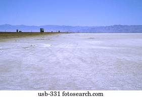 Empty Great Salt Lake Desert Utah Usa Stock Image Usb 331 Fotosearch