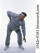 people, stretching, back, injury, Middle-aged, exercise