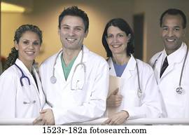 group, multiethnic, smiling, health, Middle-aged, posing