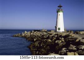 Walton Lighthouse, California, USA
