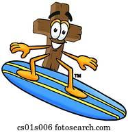 kreuz, surfen