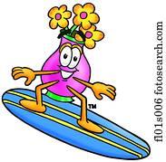 blumen, surfen