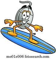 maus, surfen