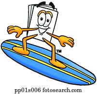 papier, surfen