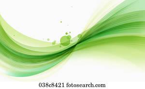 Il Bianco Stella Albero Con Sfondo Verde Clip Art