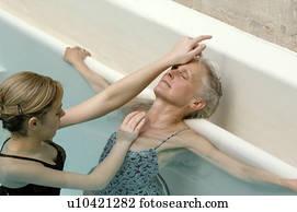 Married woman massage