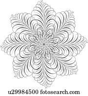 blume, Calligraphic, design
