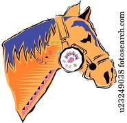 Cheval clip arts et images 59 372 cheval la recherche d illustrations et clip arts du commerce - Clipart cheval ...