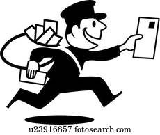 Retro mailman