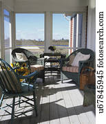 Porches Stock Photo Images 34 851 Porches Royalty Free