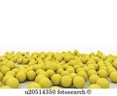 tenniskugeln, abbildung