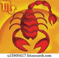 skorpion, tierkreis symbol