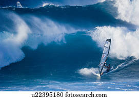 Surfing at Honolua Bay, Kapalua, Maui, Hawaii, United States