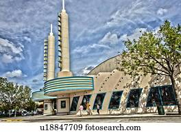 Kissimmee,Florida,USA,America;'Celebration'A Disney Master Planned Community'