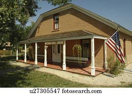 Stock Photo Of Medora Nd North Dakota Historic Medora Downtown