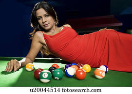 Are Unconscious nude on pool table can