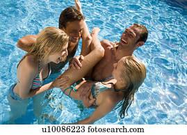 Sunbathing couples Nude Photos 12